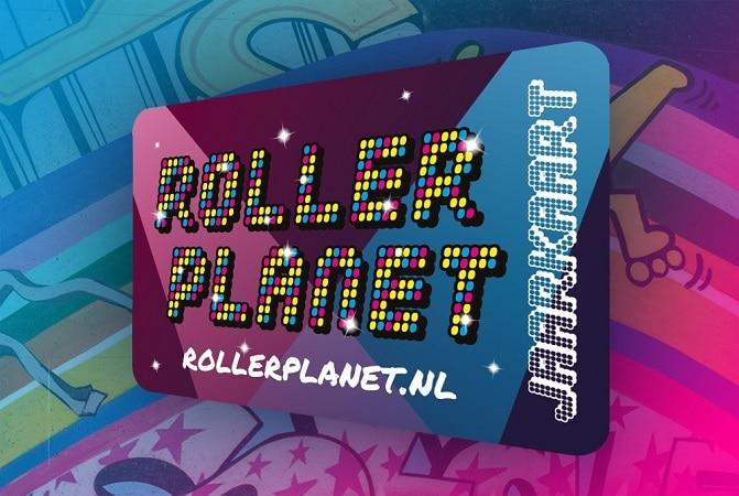 Roller Planet Jaarkaart- een jaar lang rolschaatsen