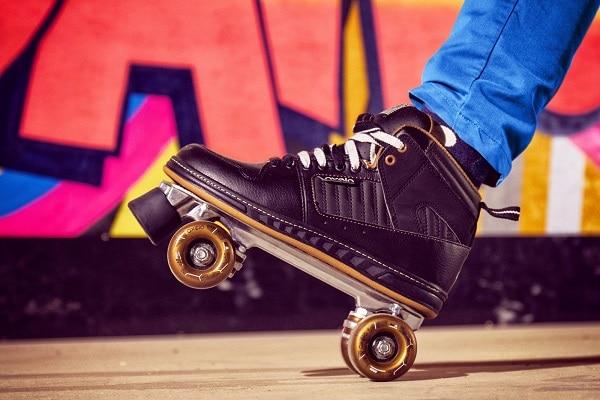 Rolschaatsen bij Roller Planet in Amsterdam